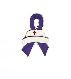 Purple Nurse Pin