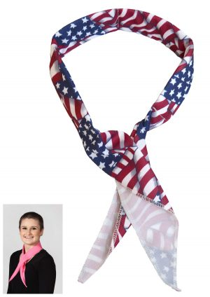 Stars and Stripes Cooling Neck Wrap
